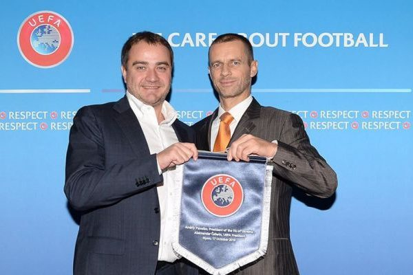 Павелко рекомендовали надолжность члена Дисциплинарного комитета ФИФА