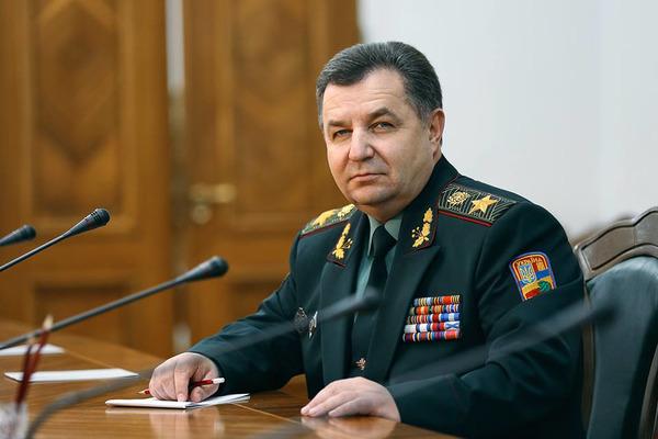 Полторак анонсував важливі рішення для повернення окупованих Криму і Донбасу