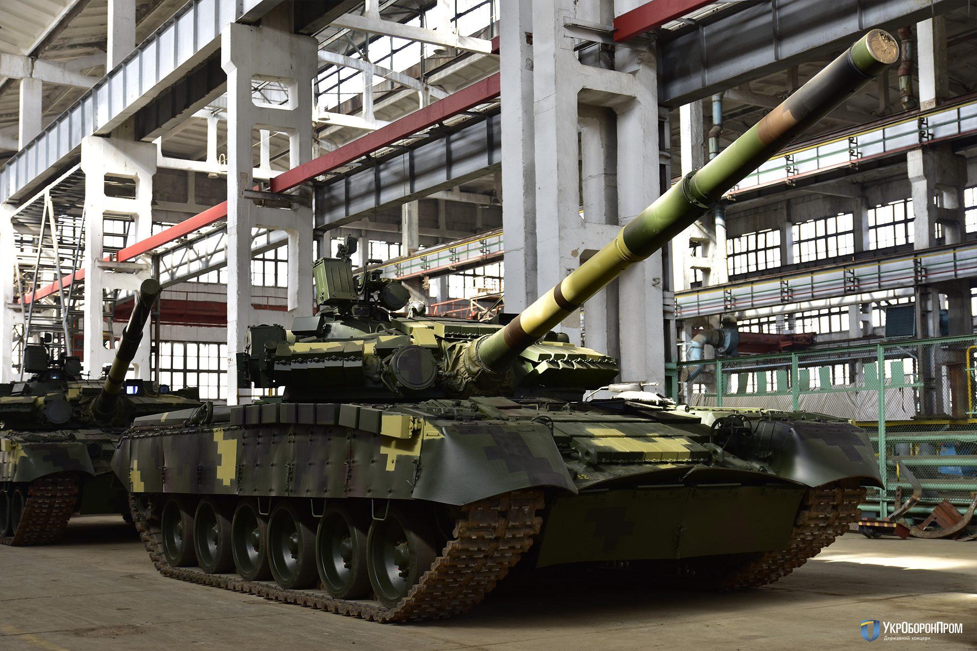 Укроборонпром підготував для десантників партію «літаючих» танків Т-80