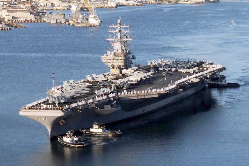 США направили авіаносець «Рональд Рейган» доберегів Корейського півострова— CNN