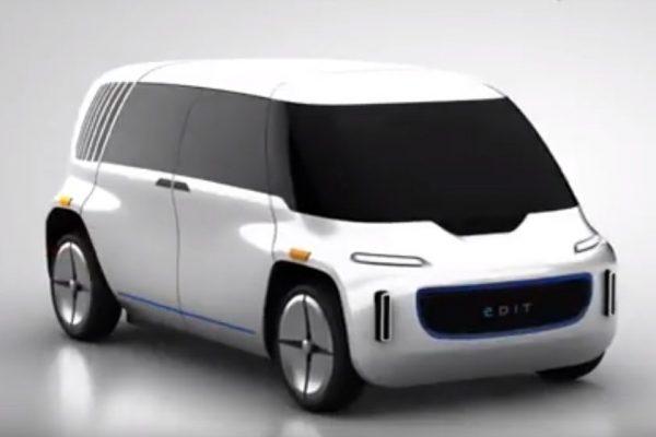 OSVehicle представила 1-ый вмире модульный беспилотный электромобиль