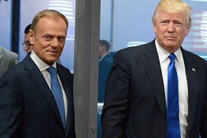 Трамп назвал германцев «очень плохими»