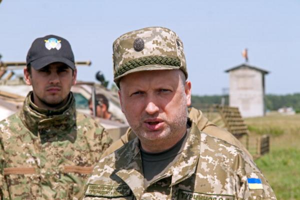Турчинов: «Наші ракети б'ють точно в ціль»