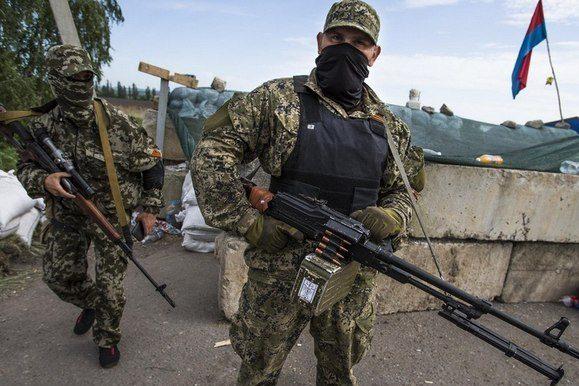 Близько десяти бойовиків було вбито і поранено внаслідок обстрілу власних позицій— розвідка