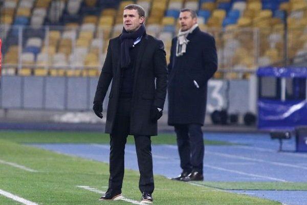 Офіційно. Ребров залишив посаду головного тренера київського «Динамо»