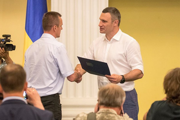 Виталий Кличко: Замесяц мы закончим полноценный ремонт ул.Васильковской