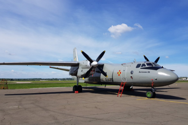 Оновлений Ан-26 і партія БТРів. Як міцніє Нацгвардія України