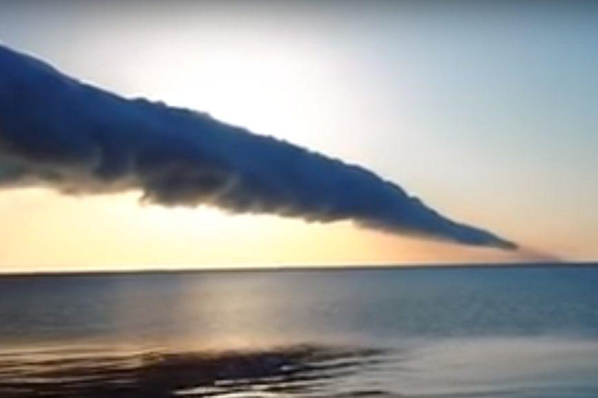 Над Азовським морем помітили «ранкову глорію»— рідкісне явище