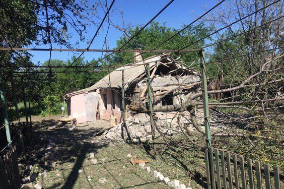 Поліція: бойовики вночі обстріляли два села уВолноваському районі наДонеччині