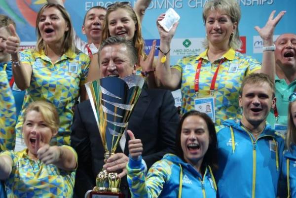 Україна стала першою начемпіонаті Європи зі стрибків уводу