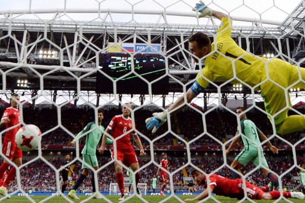 Роналду приніс Португалії перемогу над Росією вКубку Конфедерацій