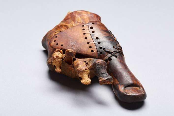 Древнейший протез напланете найден вЕгипте