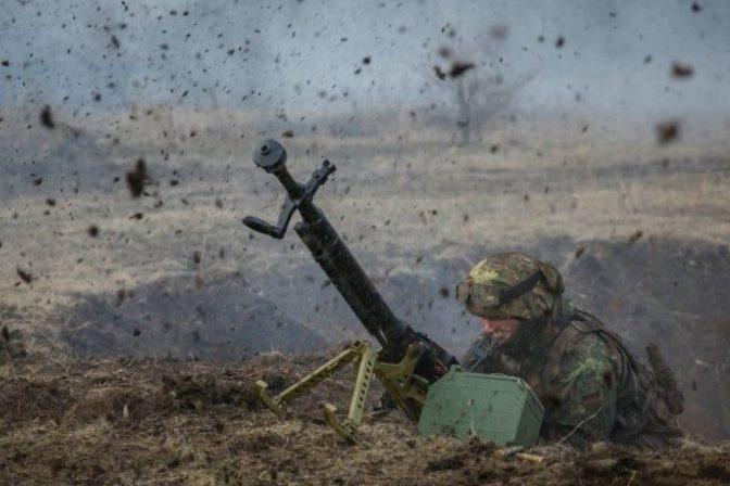 Волонтер опублікував відео знищення опорного пункту бойовиків наСвітлодарській дузі