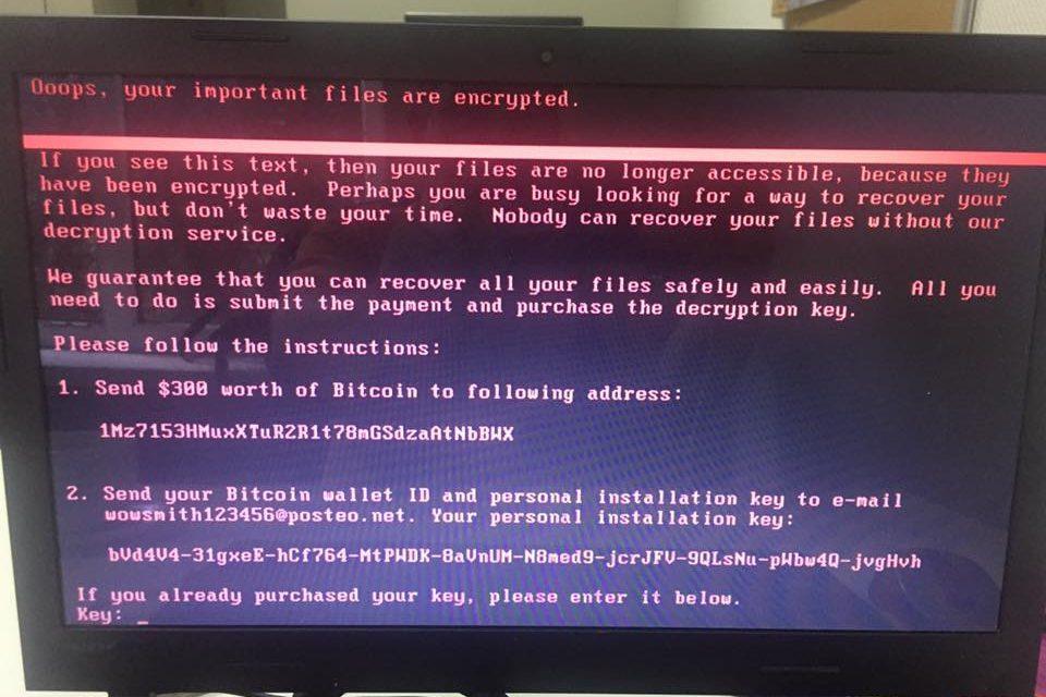 Кіберполіція порадила, як відновити комп'ютер після вірусу Petya.A