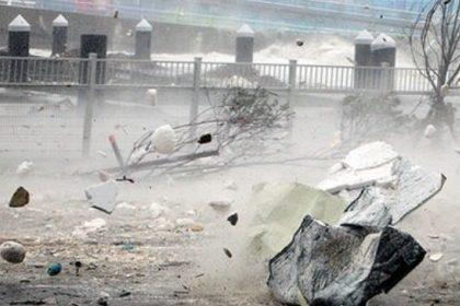 Через потужний тайфун вЯпонії скасували 43 авіарейси, стихія рухається наТокіо