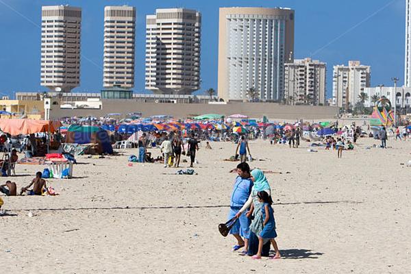 Ракета упала на берег вЛивии. Погибли 5 человек