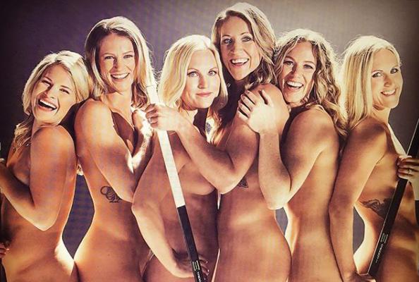Известные спортсменки снимались навсе 100% обнаженными