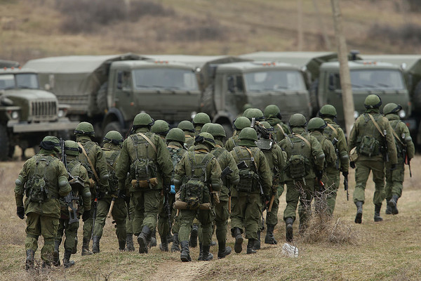 Генштаб: РФ уже собрала три мотострелковых дивизии награнице с Украинским государством
