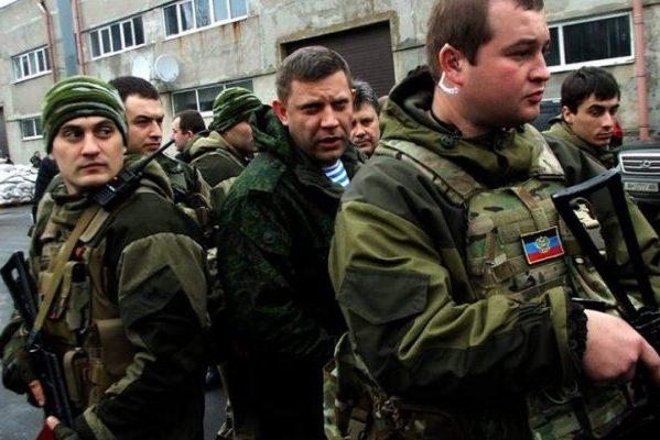Розвідка: П'яні охоронці Захарченка напали наросійських військових