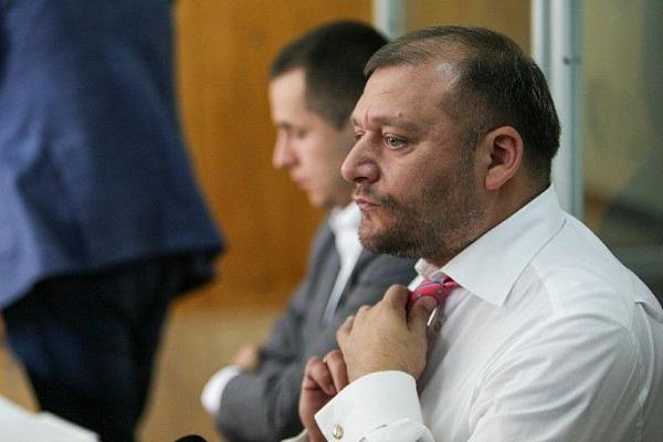 Суд прийняв рішення про арешт Добкіна