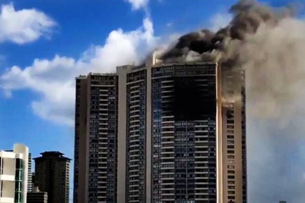 Масштабна пожежа убагатоповерхівці наГаваях забрала життя трьох людей