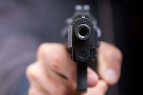 Пістолет в руці