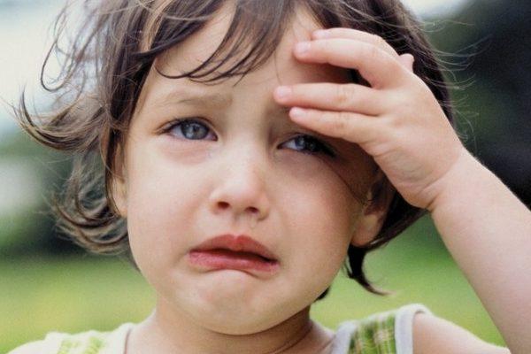 Дівчинка, яка плаче
