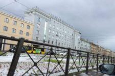 снег в санкт-петербурге