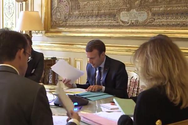 Путін безцеремонно привітався зМакроном напереговорах «нормандської четвірки»