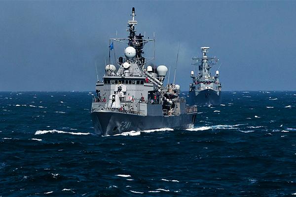 ВОдессу прибыли НАТОвские корабли