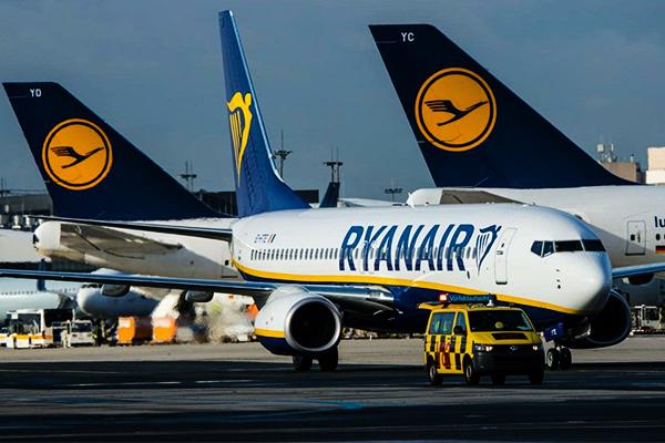 Ryanair обещает снизить тарифы наперелеты на9%