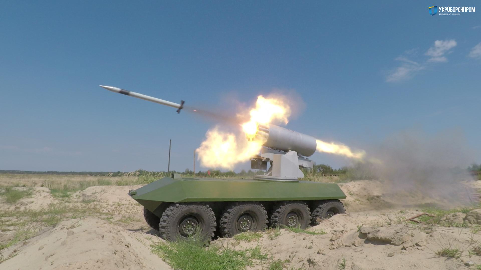 Наполігоні під Черніговом пройшли випробування новітнього українського зброї