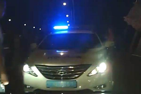 Наукраїнсько-польському кордоні побили патрульних поліцейських і пошкодили їхнє авто