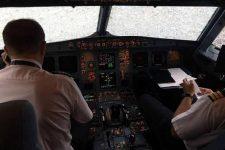 Вид з кабини літака