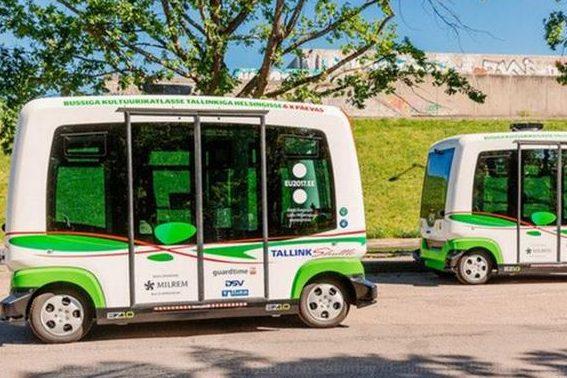 Безпілотні автобуси