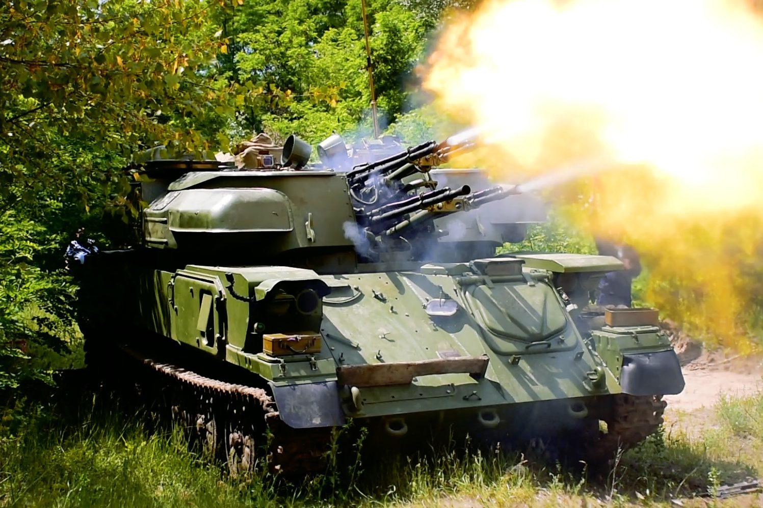 ВУкраїні провели випробування зенітно-гарматного комплексу «Шилка» (фото, відео)