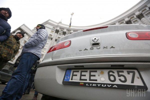 ВРаде отыскали способ побороть рынок «литовских» авто