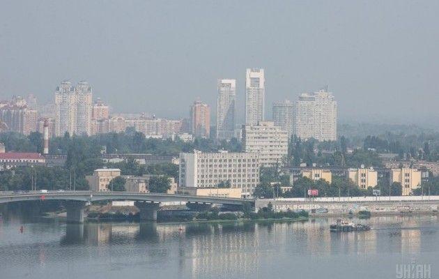 Спека у Києві
