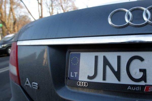 Авто на європейських номерах