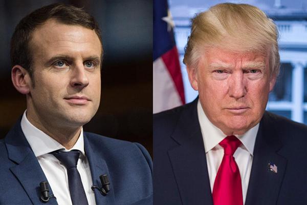 Трамп и Макрон по телефону обсудили международную повестку дня