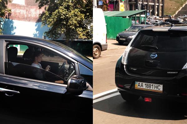 Сестра Савченко їздить наелектромобілі за $10 тис