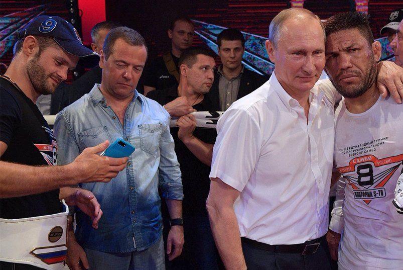 Медведєв і Путін