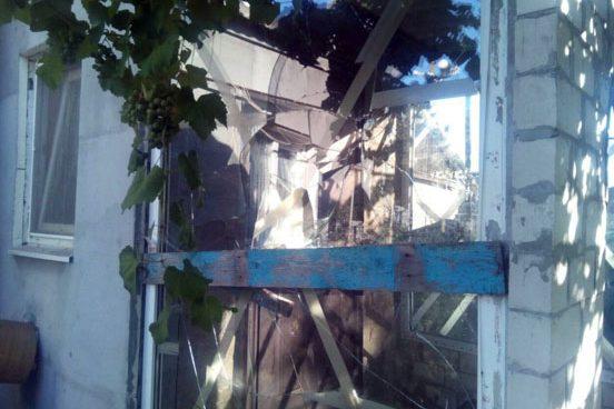 Обстріл Новолуганська