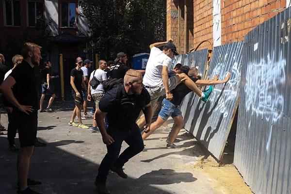 Гей-парад вОдессе: радикалы сорвали «радужное» шествие