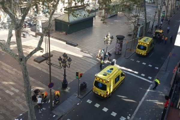 Водія фургона немає серед затриманих усправі про теракт вБарселоні