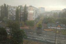 Злива у Дніпрі