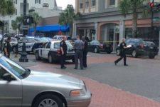Поліція біля ресторану
