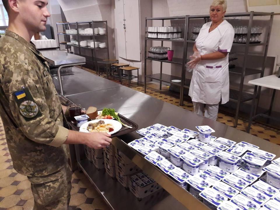 Харчування військових