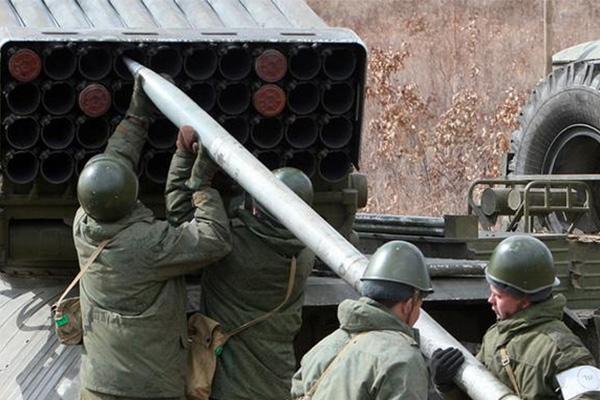 Воккупированном Крыму начались военные учения русских солдат