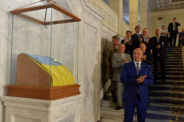 «Капитальный ремонт» вРаде: нафлаг Украины потратили неменее млн.